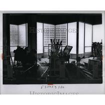 1965 Press Photo Inside Detroit's Hotel Ponchartrain