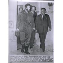 1962 Press Photo Fidel Castro Anastas Mikoyan Havana - RRX47887