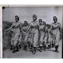 1960 Press Photo women's military police group Israel - RRX63027