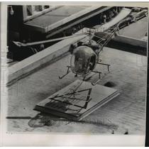 1954 Press Photo new landing field being demonstrated in Phoenix, Arizona