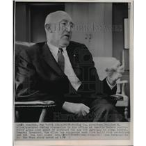 1963 Press Photo Boeing Company president William M. Allen, Seattle, Wa