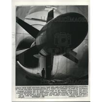 1967 Press Photo World's largest privately owned wind tunnel, Marietta, Georgia