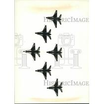 1990 Press Photo Racine-The Thunderbirds, the Air Force's precision flying team