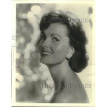 """1960 Press Photo Actress Ursula Thiess in ABC's """"The Detectives"""" - mjp37576"""