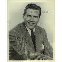 """1961 Press Photo Jack Smith to host """"Queen for a Day"""" for Jack Bailey."""