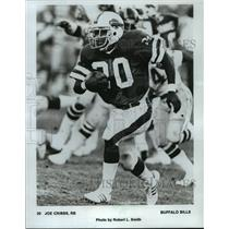 1982 Press Photo Buffalo Bills football running back, Joe Cribbs, in action