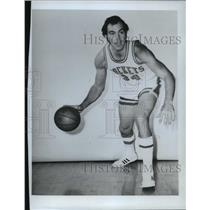 1972 Press Photo Houston Rockets basketball player, Dick Cunningham - mjt04820
