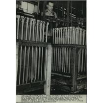 1938 Press Photo Small arms factory busy with Australia's 3 year arms program