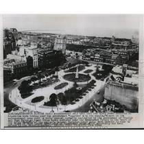 Press Photo Plaza de Mayo, Government House, Buenos Aires, Argentina - mjw01488