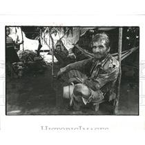 1981 Press Photo La Vitus Tundras Refugee Camp Salavdor - RRX97215