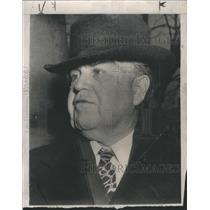 1947 Press Photo John L. Lewis, President United Mine Workers