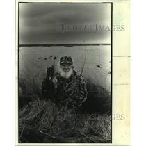 Press Photo Henry E. Klein, hunter - nob61477