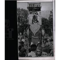 1957 Press Photo King Mahendra and Queen Ratna Devi - RRX64267
