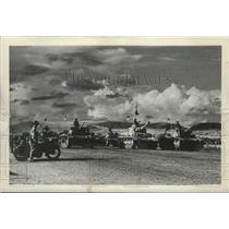 1947 Press Photo Turkey's Defense Army Rehearses On Parade Ground Of Ankara