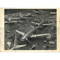 1984 Press Photo General view of the aircraft construction plant - lrx08341