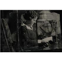 1926 Press Photo Mrs. Charles C. Gates Holds Meetings - RRW77429