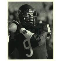 1988 Press Photo Chicago Bears football quarterback Jim McMahon - sas17405