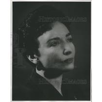 1958 Press Photo Miss Sylvia Lawry American Executive
