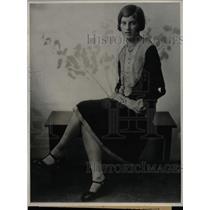 1928 Press Photo Jessie Clark Los Angeles California - RRX72587