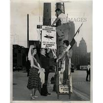 1961 Press Photo Vilas Johnson Robert O' Baien Chicago - RRW23819