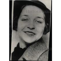 1937 Press Photo MrsDr Miller dentist slayer Smile - RRW79623
