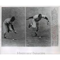 1968 Press Photo Houston Astros baseball pitcher, Dave Giusti, in action