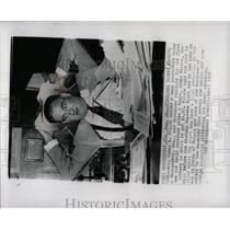 1958 Press Photo Gov. James Folsom on Jimmy Wilson fate