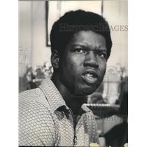 1971 Press Photo Bob Dandridge, basketball player for the Milwaukee Bucks