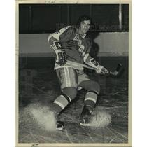 1972 Press Photo Houston Aeros' hockey player Gordon Kannegiesser - hcs07616