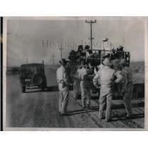1954 Press Photo Mexican Wetbacks Illegal Immigrants - RRX10219