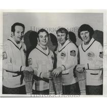 1976 Press Photo Superior Curling Club only US team to win world championship.