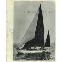 1978 Press Photo The yawl Dorade, wins race from US to England in 1931