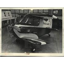 1978 Press Photo Tiny aircraft at Experimental Aircraft Association Museum