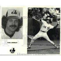 1980 Press Photo Ross Grimsley of Baseball Montreal Expos. - mjt11456