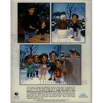 "Press Photo Animated Series ""home Improvement"" - RRX57841"