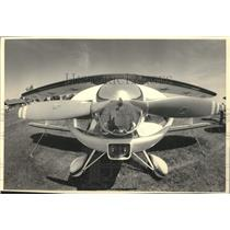 1984 Press Photo Plane on display at the Experimental Aircraft show, Oshkosh