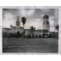 1950 Press Photo Pratt General Hospital Coral Gables