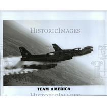 1991 Press Photo Team America planes at Greater Milwaukee Air, Water & Boat Show