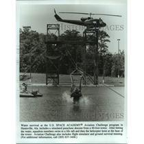 Press Photo U.S. Space Academy Aviation Challenge program in Huntsville, Alabama