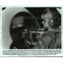 Press Photo Aviation Challenge at US Space Academy, Hunstville, Alabama