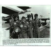 Press Photo Aviation Challenge trainees in Huntsville, Alabama - abna43792