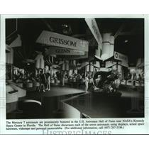 Press Photo Visitors at the US Astronaut Hall of Fame in Florida - abna43797