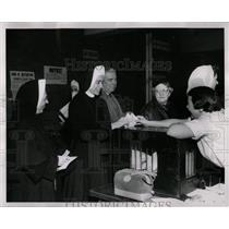 1960 Press Photo Chicago Early Voting - RRW89551