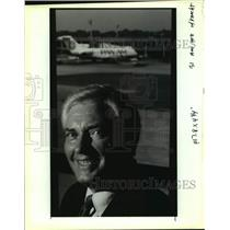 1991 Press Photo Joe Knecht, New Orleans Aviation Board chairman - nob52024