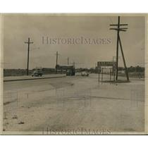 Press Photo Traffic on Interstate 90 to New Orleans. - nob50105