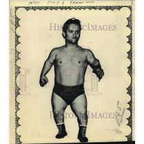 1973 Press Photo Wrestler Farmer Jerome - tus01733