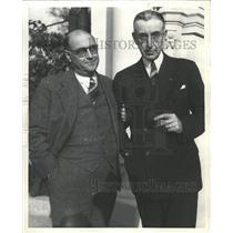1941 Press Photo Richard Osenbaugh Denver Commerce Pres - RRX87475