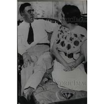 1933 Press Photo Charles Urschel Oilman Kidnap Victim - RRX70213