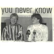 1995 Press Photo Roger & Karen Savoie, Lottery winners, Fultonville, New York