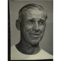 1949 Press Photo Los Angeles Rams football coach Clark Shaughnessy - sas17604